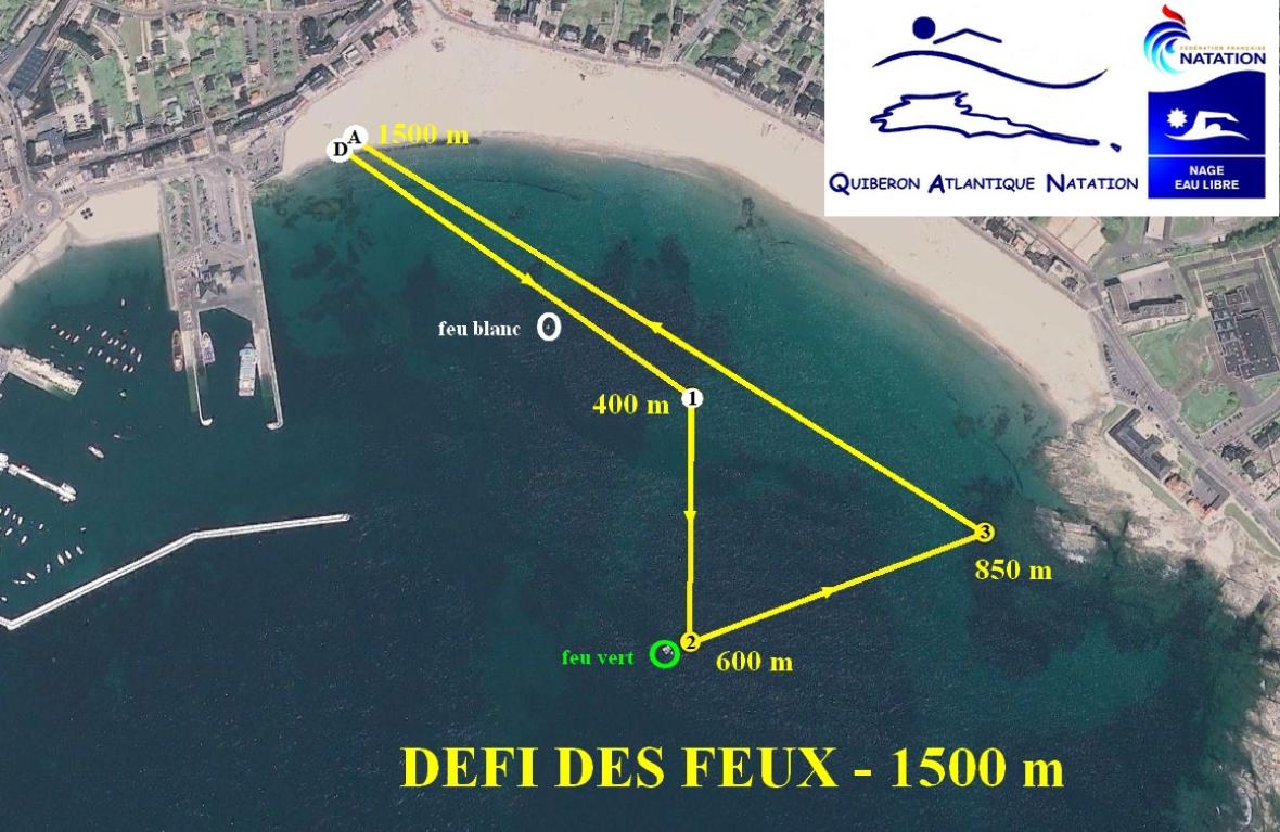 LE DEFI DE L\u0027ARDENT 500 m